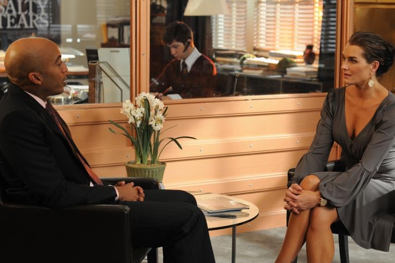 Brooke Shields Insieme A James Lesure Nell Episodio Chapter Ten Let It Be Della Serie Lipstick Jungle 92302
