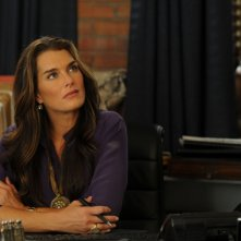 Brooke Shields nell'episodio 'Chapter ten: Let it be' della serie Lipstick Jungle