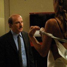 Carlo Buccirosso in una scena del film Vip, diretta dai fratelli Vanzina