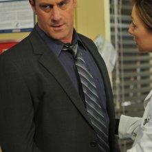 Christopher Meloni è il Detective Elliot Stabler nella serie tv Law & Order: SVU, episodio: Retro