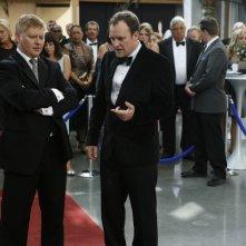 Dave Foley insieme a David Hewlett nell'episodio 'Brain Storm' della quinta stagione di Stargate Atlantis