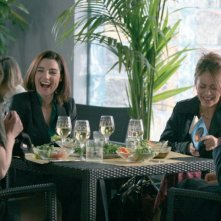 Il cast di Amiche Mie: Margherita Buy (di spalle) Cecilia Dazzi, Elena Sofia Ricci e Luisa Ranieri