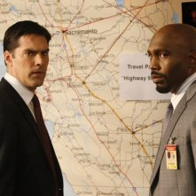 James Black insieme a Thomas Gibson nell'episodio 'Catching Out' della serie Criminal Minds
