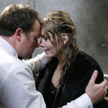 Jewel Staite e David Hewlett nell'episodio 'Brain Storm' della serie Stargate Atlantis