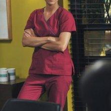 Kate Walsh in una sequenza dell'episodio 'Past Tense' della serie Private Practice