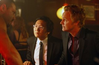 Masi Oka e David Anders nell'episodio Angels And Monsters di Heroes