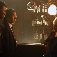 Masi Oka, James Kyson Lee e Brea Grant nell'episodio Angels And Monsters di Heroes