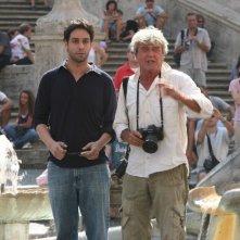 Matteo Branciamore in una scena del film televisivo Vip, diretto dai fratelli Vanzina