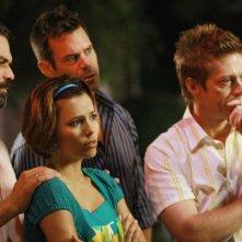 Ricardo Chavira, Eva Longoria e Doug Savant nella serie Desperate Housewives, episodio: Mirror, Mirror