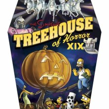 Un poster promozionale per l'episodio Treehouse of Horror XIX dei Simpson