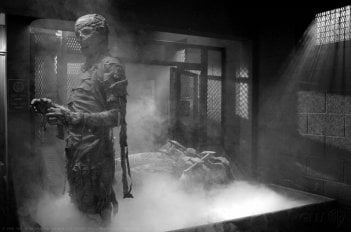 Una scena d'atmosfera dell'episodio Monster Movie di Supernatural