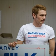 James Franco in un'immagine del film Milk