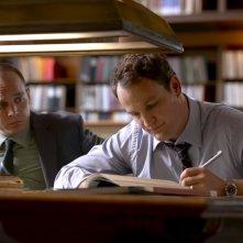 Jason Clarke con Ethan Embry nell'episodio 'Let Rome in Tiber Melt' della terza stagione di Brotherhood