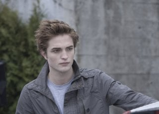 L'affascinante Robert Pattinson, protagonista del film Twilight