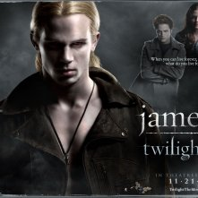 Un wallpaper del film Twilight con Cam Gigandet