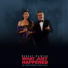 Un wallpaper del film What Just Happened? con Catherine Keener e Robert De Niro