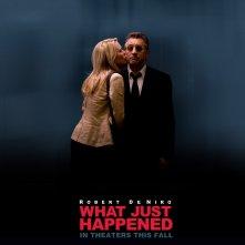 Un wallpaper del film What Just Happened? con Robin Wright Penn e Robert De Niro