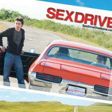 Un wallpaper di Sex Drive con Josh Zuckerman