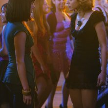 AnnaLynne McCord e Jessica Lowndes in una scena dell'episodio 'There's No Place Like Homecoming' della serie tv 90210