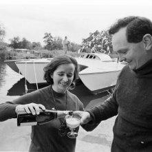 Donald Crowhurst in un'immagine tratta dal documentario Deep Water - La folle regata