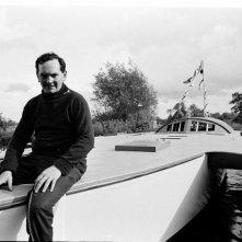 Donald Crowhurst in una scena del documentario Deep Water - La folle regata