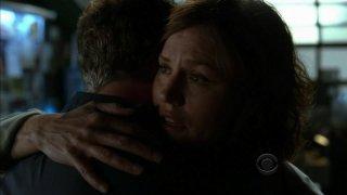 Jorja Fox in un momento dell'episodio 'For Warrick' della nona stagione di CSI