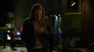 Marg Helgenberger nell'episodio 'For Warrick' della nona stagione di CSI: Crime Scene Investigation