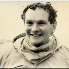 Donald Crowhurst in un'immagine del documentario Deep Water - La folle regata