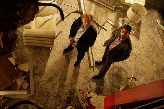 David Caruso e Adam Rodriguez in un momento dell'episodio 'Wrecking Crew' della settima stagione di CSI Miami