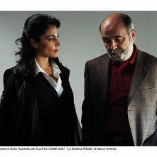 Emanuela Mulè e Gerard Jugnot in una bella immagine de La siciliana ribelle