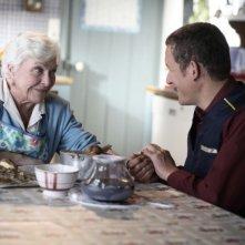 Line Renaud e Dany Boon in una scena del film Giù al nord