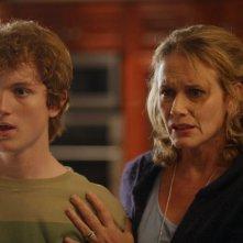 Randall Bentley ed Ashley Crow in una scena dell'episodio Eris Quod Sum di Heroes