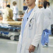 T.R. Knight nell'episodio 'There's no 'I' in Team' della serie Grey's Anatomy