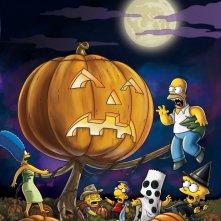 Un'immagine promozionale per l'episodio Treehouse of Horror XIX dei Simpson