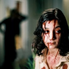 Lina Leandersson in un'immagine del film Let the Right One in