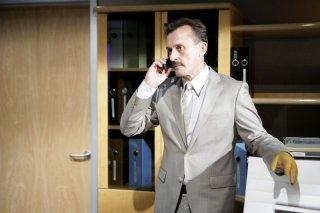 Robert Knepper nel ruolo di T-Bag nella serie Prison Break, episodio: Greatness Achieved