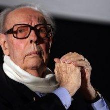 Gian Luigi Rondi alla presentazione del cartellone di L'altro cinema/ L'occhio sul mondo di Roma 2008