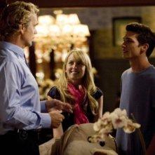 Megan Park , Daren Kagasoff e John Schneider in un'immagine de La vita segreta di una teenager americana (prima stagione)