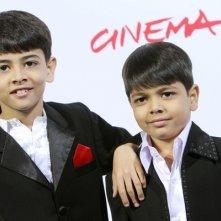 Festival del Film di Roma 2008: i giovani attori fratelli Arnav e Purav Bhandare presentano il film Tahaan