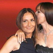 Maria Sole Tognazzi e Monica Bellucci al Festival del Film di Roma 2008 per L'uomo che ama