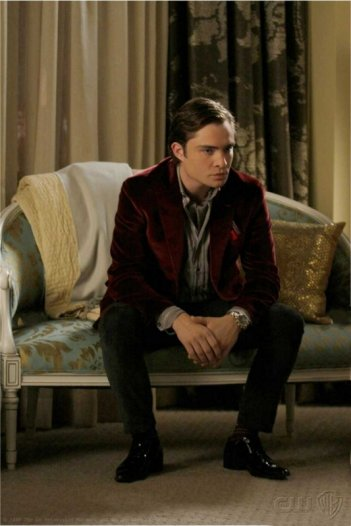 Ed Westwick nell'episodio Chuck in Real Life di Gossip Girl