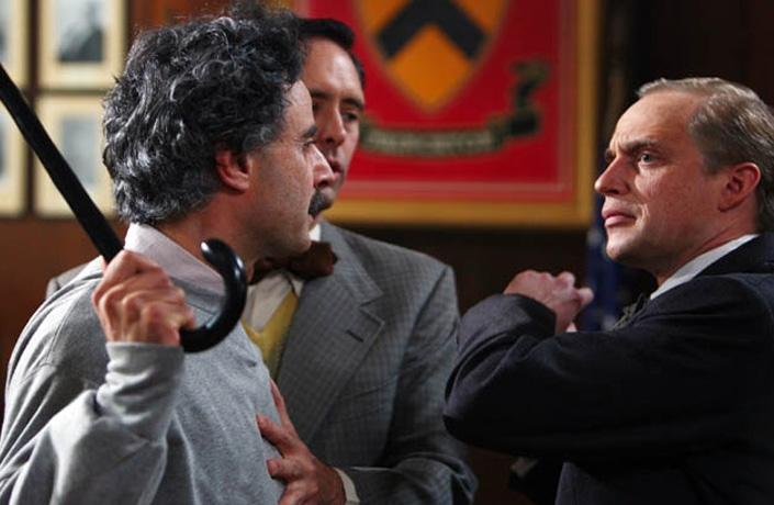 Piotr Adamczyk E Vincenzo Amato In Una Scena Di Einstein 93825