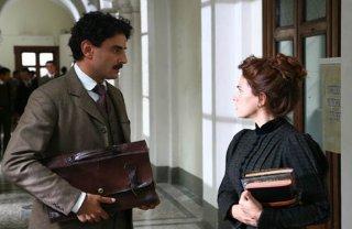 Vincenzo Amato e Maya Sansa in una sequenza di Einstein