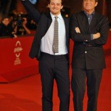 Brando De Sica, assieme a suo padre Christian, presenta il suo debutto alla regia 'Parlami di Me', al Festival di Roma.