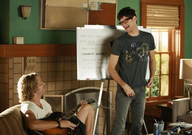 Erich Christian Olsen E Will Mccormack In Una Scena Dell Episodio Do You Believe In Magic Della Serie Tv Brothers And Sisters 93845