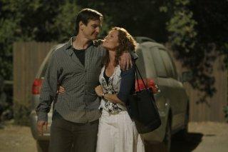 William Mapother e Robyn Lively durante una scena dell'episodio 'Paradise' della serie tv Criminal Minds
