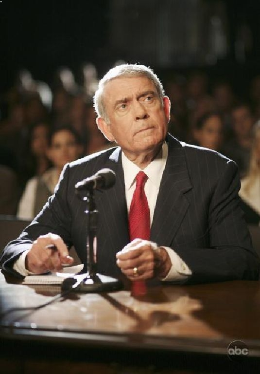 Dan Rather In Una Sequenza Dell Episodio The Star Witness Della Serie Tv Dirty Sexy Money 93935