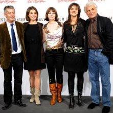 Festival di Roma 2008: Michele Placido con Michele Soavi, Ana Caterina Morariu, Barbora Bobulova e Alina Nedelea
