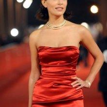 Festival di Roma 2008: una seducente Caterina Murino presenta The Garden of Eden, di cui è protagonista.
