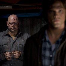 Jared Padalecki e David Mattey nella serie tv Supernatural, episodio: Yellow Fever